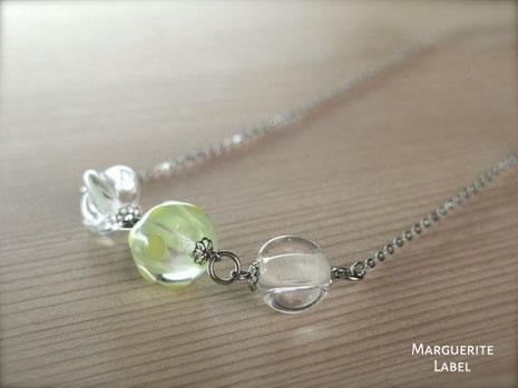 elegance green/若草色のエレガンス