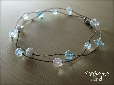 Pure Opera / Glass Beads Necklace