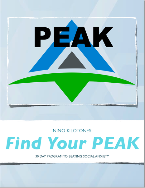 Find Your Peak By Nino Kilotones Book Cover