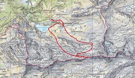 Skitour Laucherentstock - Tourüberblick