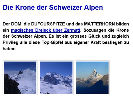 Die Krone der Schweizer Alpen - Richard Brusa