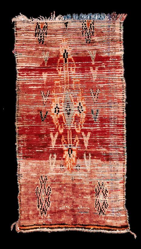 Teppich. Zürich. Vintage Boujad Rug, Morocco. Handgewebter Teppich, Kelim aus Marokko.