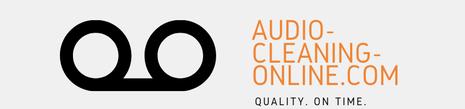 Audio restoration | Audio restoration online
