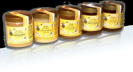 Frischer Honig direkt vom Imker