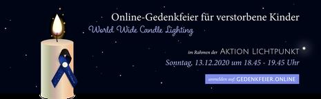 Web-Banner der Aktion Lichtpunkt 2020