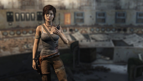 Lara Croft dans Tomb Raider 9 (2013)