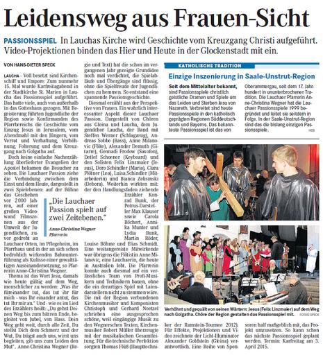 Presse Passionsspiel 2014