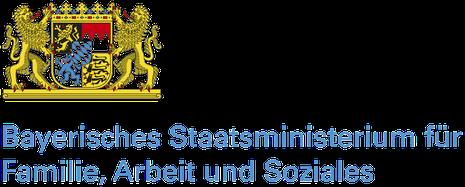 Freiwilligen-Zentrum Augsburg - Logo Bayerisches Staatsministerium für Arbeit und Soziales, Familie und Integration