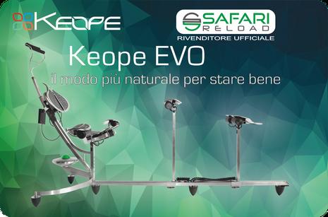 Safari reload  - rivenditore ufficiale poltrona medica Keope