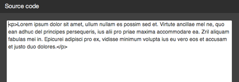 Sorgente HTML