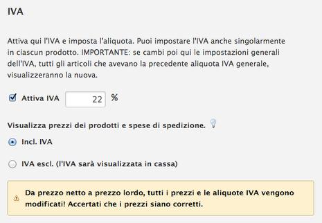 IVA shop