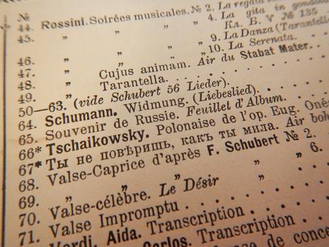 № 65. Русский сувенир. Листок из альбома, фрагмент обложки (фото)