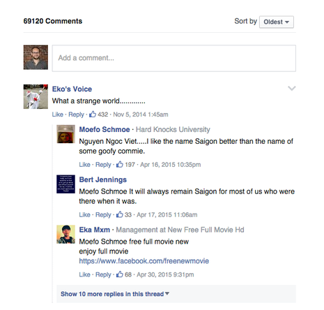 Facebook Comments require visitors to be signed in with Facebook, which removes the option of anonymous posts.