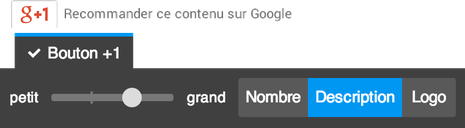 bouton+1 google+