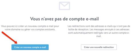 Jimdo Mail : insérer vos données