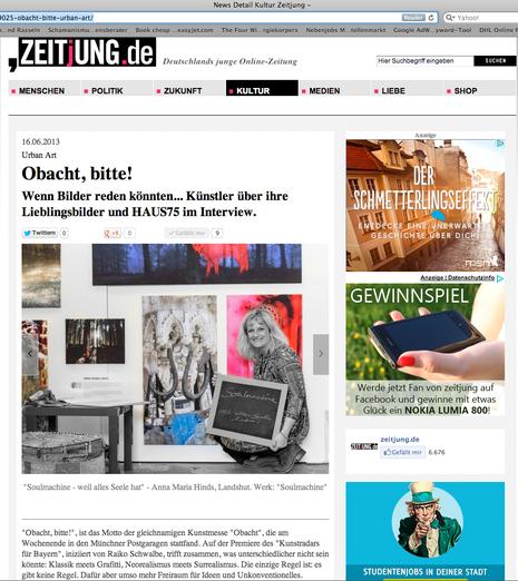 """Artikel - """"Zeitjung.de"""" Online-Magazin"""