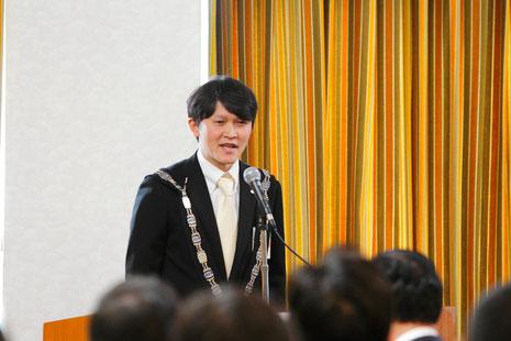 第49代佐藤 研理事長の所信表明