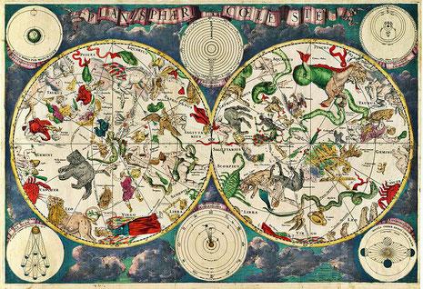 Darstellung der Himmelssphären