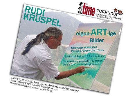 Galerie Time Ausstellung Rudi Kruspel