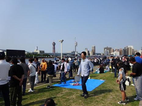 ボートレース福岡 芝生広場
