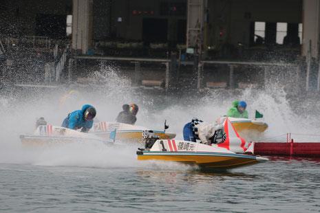 ボートレース福岡2マーク篠崎元志