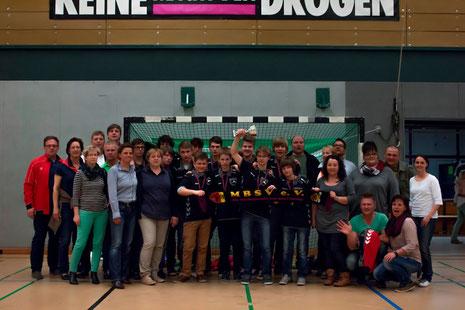 Delegation Bad Belzig - beim HanseCup 2014 in Hamburg