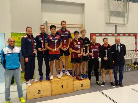 Martin Kinslechner und Andreas Hammerschmid gewannen Bronze in Guntramsdorf.