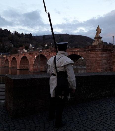 Wache an der Alten Brücke