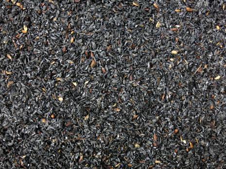 籾殻燻炭と土壌改良の写真
