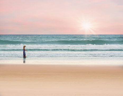Entschleunigen Sie an der schönen und erholsamen Nordsee