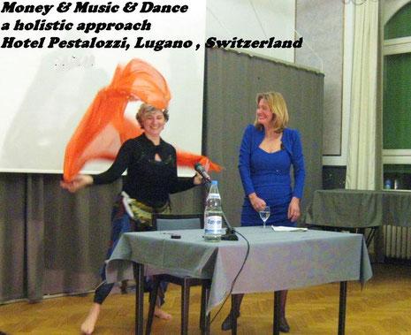 Geld und Musik Irina Reylander Lugano