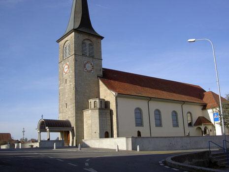 Katholische Kirche in Siviriez