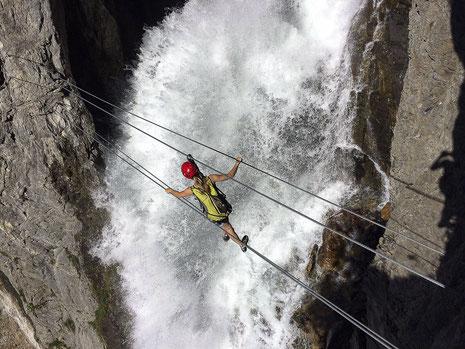 Klettersteig Tirol : Simms wasserfall klettersteig bergführerbüro reutte tirol