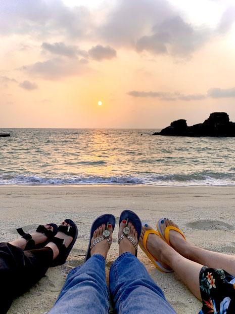 10月の沖縄。10月でもあったかいんだ。