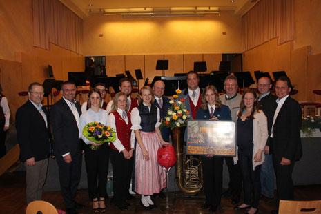 Jugendkapelle Staatz bei der Konzertmusikbewertung 2018 in Gaweinstal