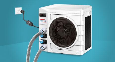 Pompa di calore per piscina a collegamento rapido