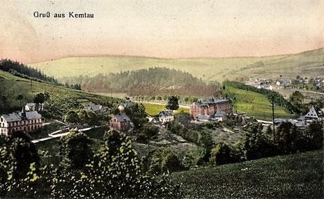 Die Strumpffabrik Franz Pfau vorm Dachsberg 1925