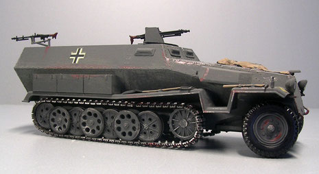 60 Gummikette weiß für Gama Panzer Nr