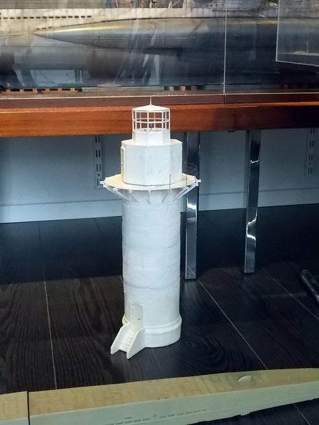 Viic bei der ausfahrt for Leuchtturm modell selber bauen