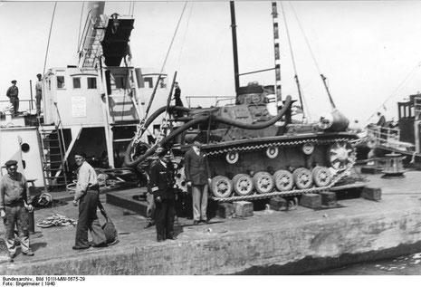 Baubericht Diorama Tauchpanzer Iii Www Panzer Bau De