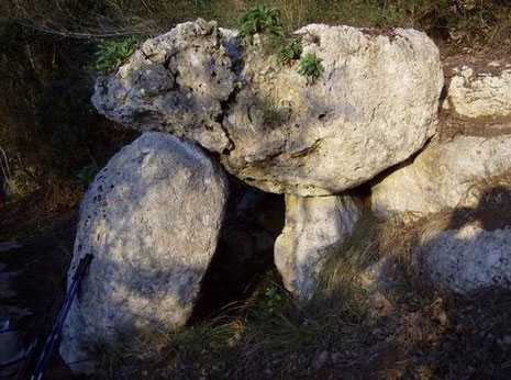 The Megalithic Dolmen of Monticello