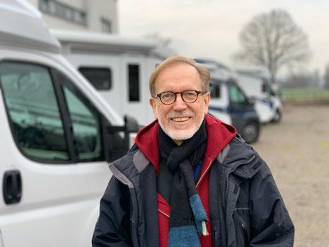Peer ist der Gründer und Inhaber von Hirschbühl Caravan Rental