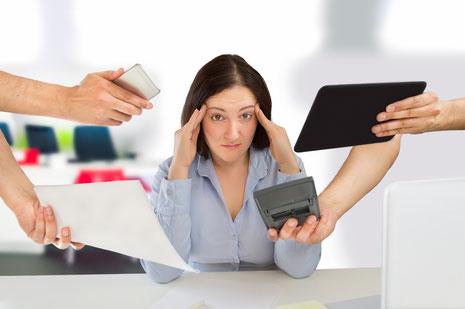 Dem Stress auf den Grund gehen,  Stressauslöser & Stressgedanken erkennen und individuell gegensteuern