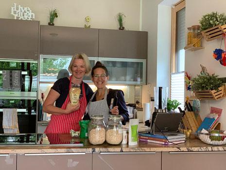 Kochworkshops direkt bei Familien zu Hause, gemeinsam Kochen, veganer Kochworkshop, Online-Kochworkshop