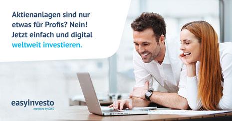 easyInvesto digitale Geldanlagelösung Versicherungsmakler Dorfen & Isental