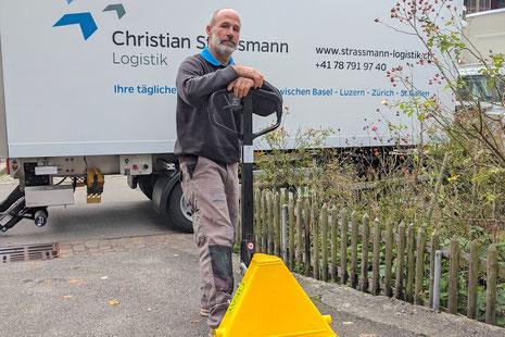 Christian Strassmann Logistik Team