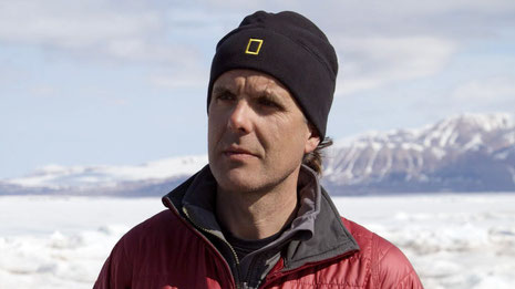 Dr. Eric Sala, National Geografic Explorer  in Residence.