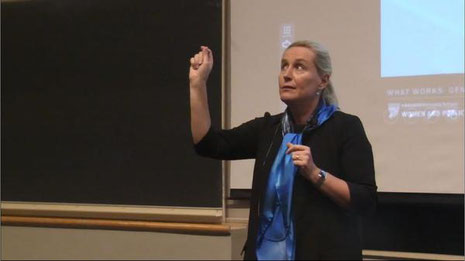 Iris Bohnet, Professor Harvard kennedy school.