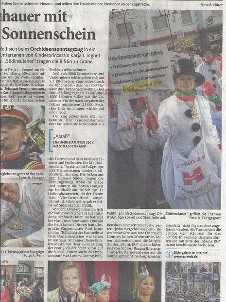 Dürener Zeitung 20.02.2012