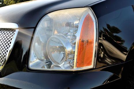 MOT Crawley  Horley Smallfield Redhill Reigate Gatwick car head lights